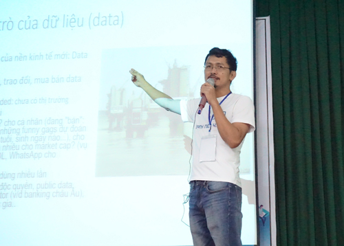 Mentor Nguyễn Thành Lâm chia sẻ về mô hình của nền kinh tế 4.0