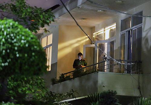 Cảnh sát khám xét nhà ông Nguyễn Hữu Tín và nhiều cán bộ