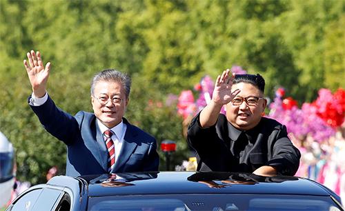 Hành trình dài bất thường từ sân bay đến nhà khách của lãnh đạo Hàn – Triều