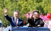 Hành trình dài bất thường từ sân bay đến nhà khách của lãnh đạo Hàn - Triều