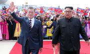 5 điểm nổi bật tại lễ đón tiếp Tổng thống Hàn ở Bình Nhưỡng