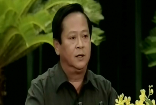 Ông Nguyễn Hữu Tín. Ảnh chụp màn hình.