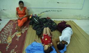 Cảnh đời khó khăn của bệnh nhân sau vụ cháy gần Viện Nhi