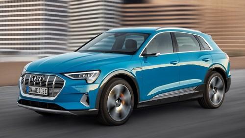 Xe điện Audi E-Tron vừa được giới thiệu.