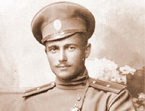 Thiếu úy Kotlinsky trước khi được điều đến pháo đài Osowiec. Ảnh: RBTH.