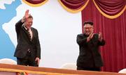Lãnh đạo Hàn - Triều xem văn nghệ, dự quốc yến
