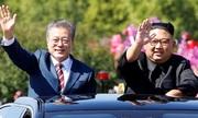 Báo Triều Tiên dành 5 trên 6 trang đưa tin chuyến thăm của Moon