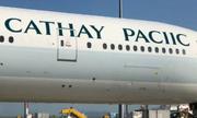 Hãng hàng không Hong Kong sơn sai tên trên máy bay