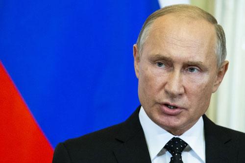 Putin phát biểu tạiĐiện Kremlin hôm 18/9. Ảnh: AFP.