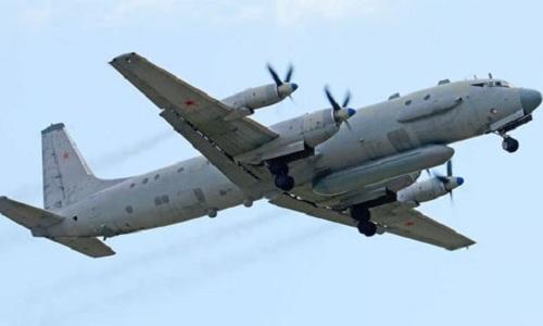 Một trinh sát cơ IL-20 của Nga. Ảnh: Royal Navy.