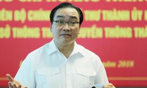 Bí thư Hà Nội khẳng định không thể phớt lờ thông tin mạng xã hội