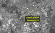 Kho đạn của Syria bị san phẳng trong đòn không kích của Israel