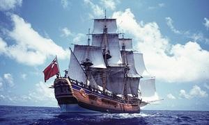 Tìm thấy xác tàu mất tích của thuyền trưởng James Cook