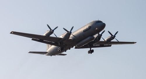Một trinh sát cơ Il-20 của Nga. Ảnh: Reuters.