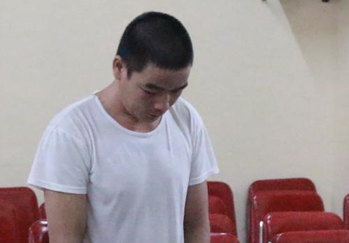 Bị cáo Quang Văn Bốn tại tòa.
