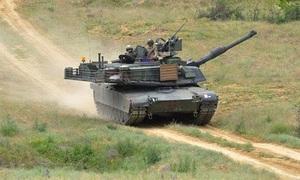Ba lính Mỹ bị thương khi xe tăng Abrams gặp nạn ở Slovakia