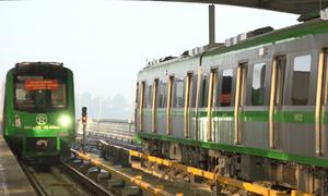 Vận hành thử toàn bộ hệ thống đường sắt Cát Linh - Hà Đông