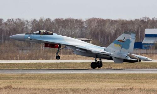 Tiêm kích Su-35 trong biên chế không quân Trung Quốc. Ảnh: Livejournal.