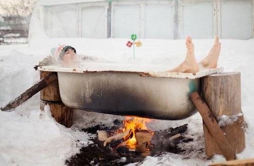 Bí kíp vượt qua cơn ám ảnh mang tên tắm đông.