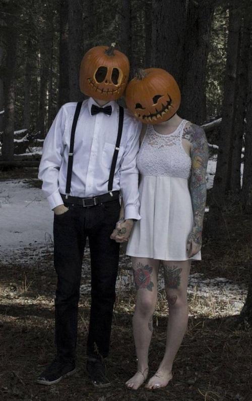Vợ chồng bí ngô.