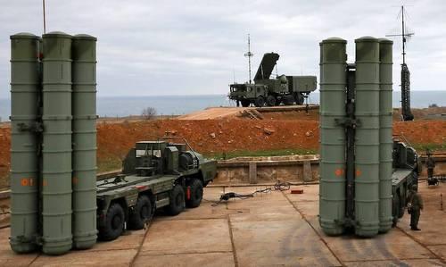 Một khẩu đội S-400 Nga triển khai hồi đầu năm 2018. Ảnh: TASS.