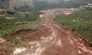 Sạt lở, sụt lún lan rộng ở Lâm Đồng
