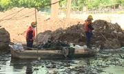 Giải cứu sông Cầu Bây ô nhiễm ở Hà Nội