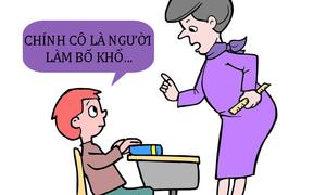 Lý do bố khổ vì cô giáo