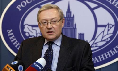 Thứ trưởng Ngoại giao Nga Sergei Ryabkov. Ảnh: Reuters.