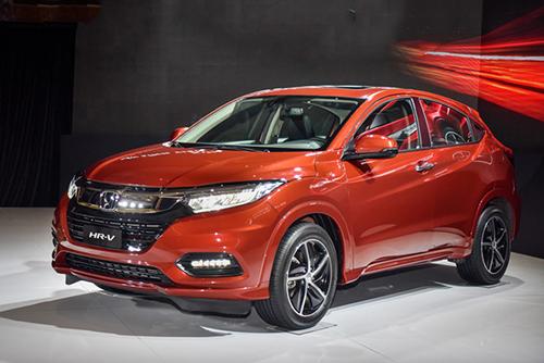 Honda HR-V nhập khẩu Thái Lan ra mắt tại Việt Nam.