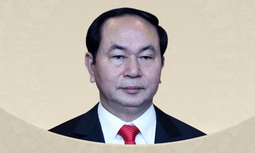 Quá trình công tác của Chủ tịch nước Trần Đại Quang. Đồ họa: Tiến Thành