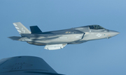 Tiêm kích F-35B Mỹ diễn tập với cụm pháo tàng hình gần Syria