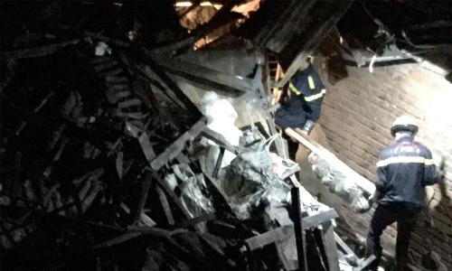 Hai thi thể được tìm thấy tại hiện trường vụ cháy gần Bệnh viện Nhi