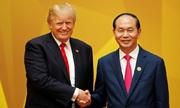 Tổng thống Trump ca ngợi Chủ tịch nước Trần Đại Quang