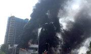 Cháy ở trung tâm thương mại cao nhất TP Yên Bái