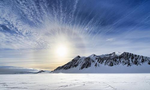 Hoang mạc lạnh dự trữ 70% lượng nước ngọt toàn cầu