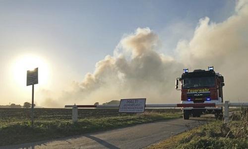 Quân đội Đức thử tên lửa, gây thảm họa cháy rừng