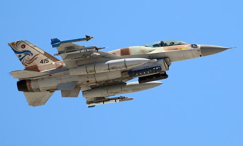 Tiêm kích F-16 Israel trong một chuyến bây năm 2016. Ảnh: Jet Photos.