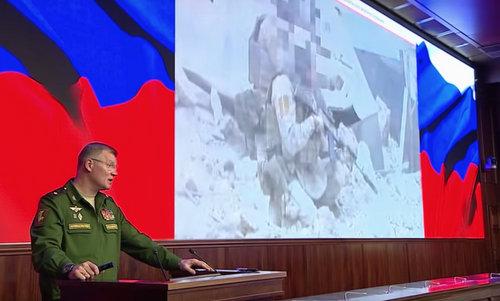 Tướng Konashenkov tiết lộ về chiến dịch tìm kiếm. Ảnh: AP.