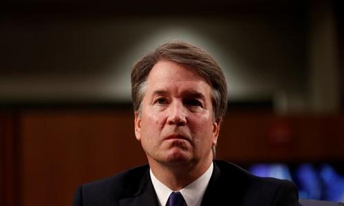 Brett Kavanaugh trong phiên điều trần trước Ủy ban Tư pháp Thượng viện ngày 4/9. Ảnh: Reuters.