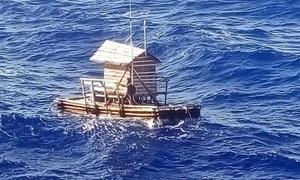 Chàng trai Indonesia sống sót sau 49 ngày trôi dạt trên lều bẫy cá