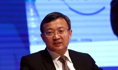 Thứ trưởng Thương mại Trung Quốc Vương Thụ Văn tại một hội thảo về kinh tế tại Argentina hồi tháng 12 năm ngoái. Ảnh: Reuters.