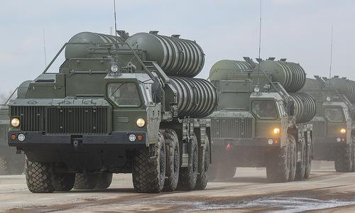 Tên lửa S-300 Nga tham gia diễn tập đầu năm 2018. Ảnh: TASS.