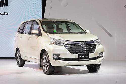 Toyota Avanza ra mắt tại Việt Nam. Ảnh: Lương Dũng.
