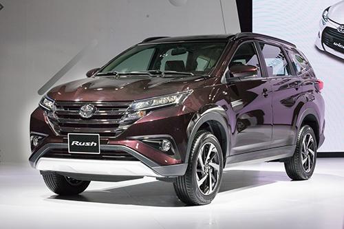 Toyota Rush trong lễ ra mắt tại Hà Nội. Ảnh: Lương Dũng.
