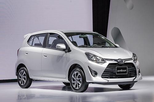 Toyota Wigo ra mắt tại Hà Nội sáng 25/9. Ảnh: Lương Dũng.