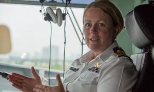 Nữ hạm trưởng đầu tiên của hải quân New Zealand