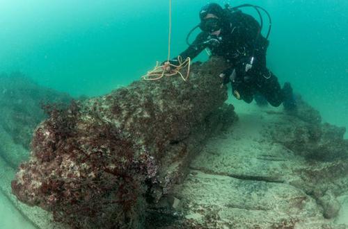 Xác tàu buôn là phát hiện khảo cổ quan trọng của Bồ Đào Nha trong 10 năm qua. Ảnh: Reuters.