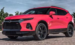 Chevrolet Blazer 2019 giá từ 30.000 USD