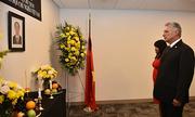 Lãnh đạo các nước viếng Chủ tịch nước Trần Đại Quang
